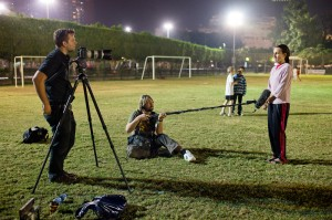 Interviews at the Gezira Sport Club, Cairo
